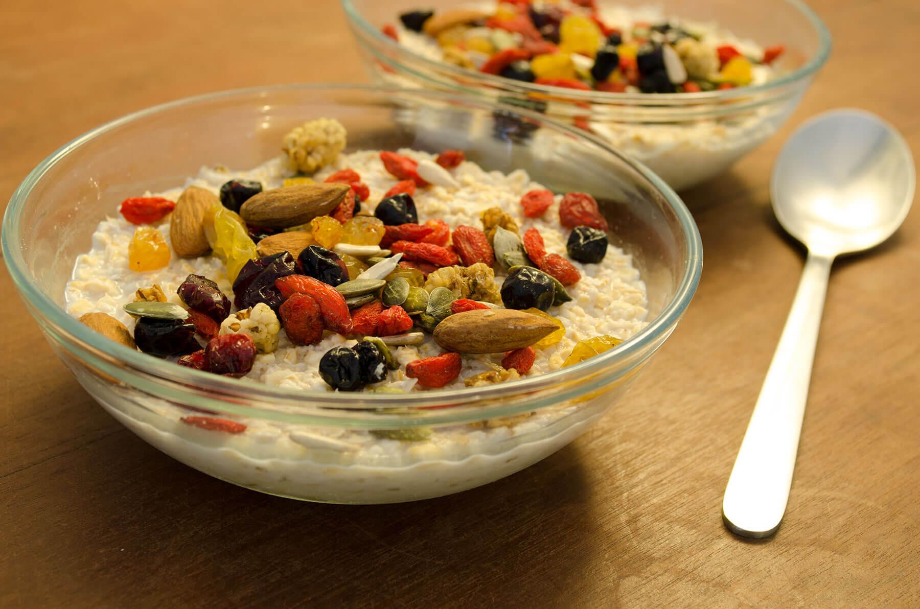 havermout met yoghurt gezond