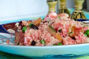 couscous, couscous salade, salade couscous