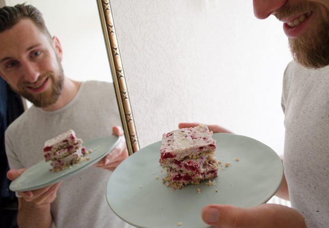 Gezond recept met frambozen
