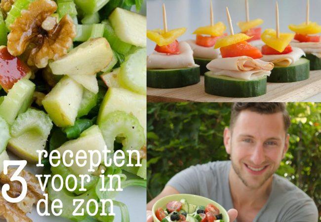 3 zomerse recepten waar je echt blij van wordt!