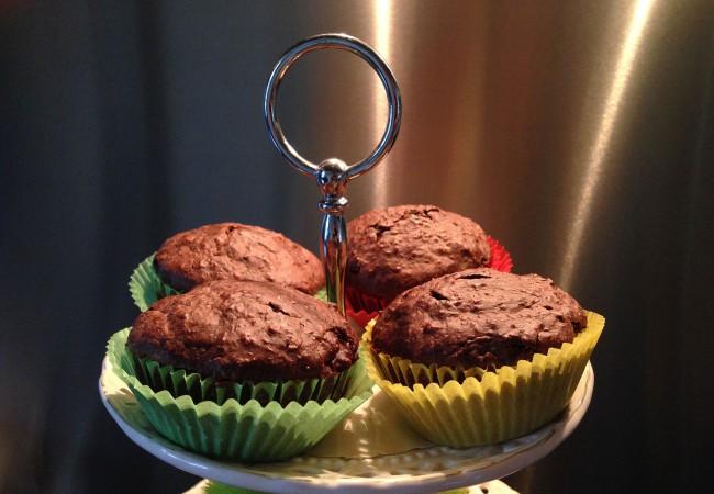 Muffins met chocolade