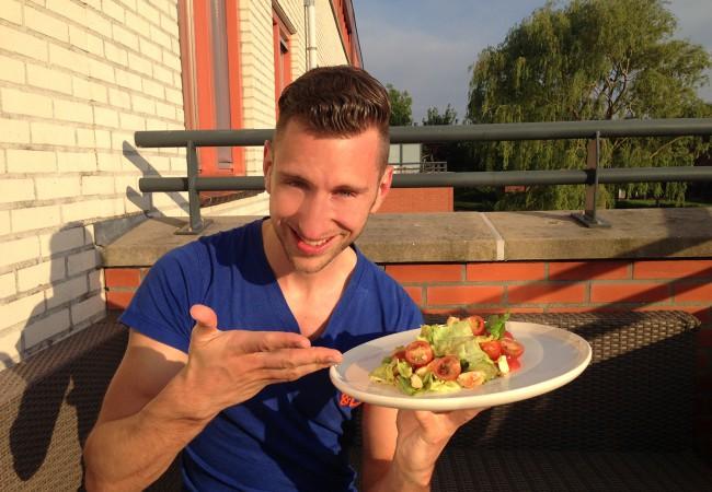 Ierse salade met kipfilet