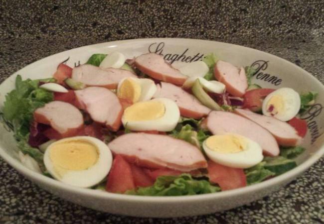 Zondagse salade van Perry