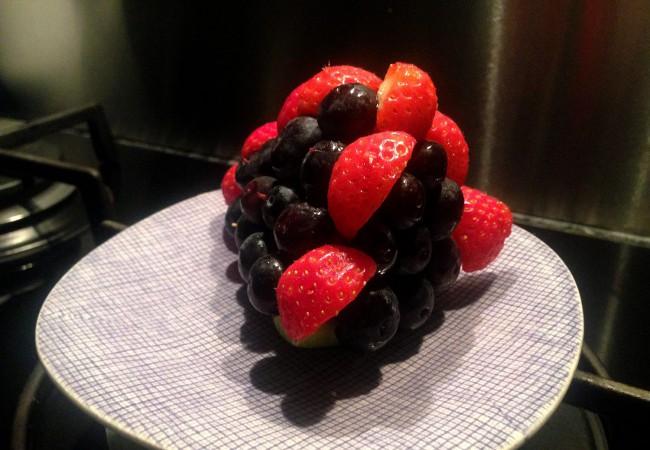 Taart maken van fruit