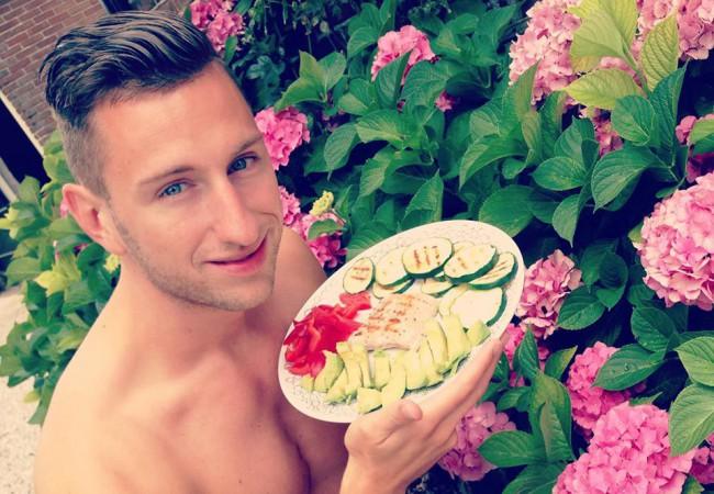 Zalm met groentjes