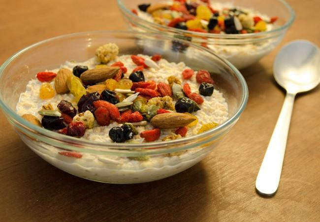 Gezond ontbijt met havermout