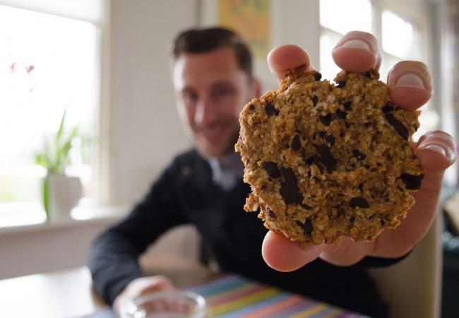 Verantwoorde koek met pure chocolade