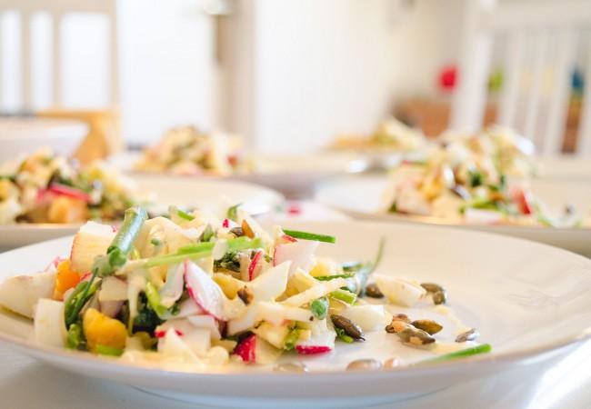 Salade recept voor Pasen