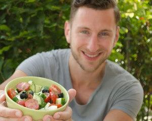 griekse salade, salade, recept salade