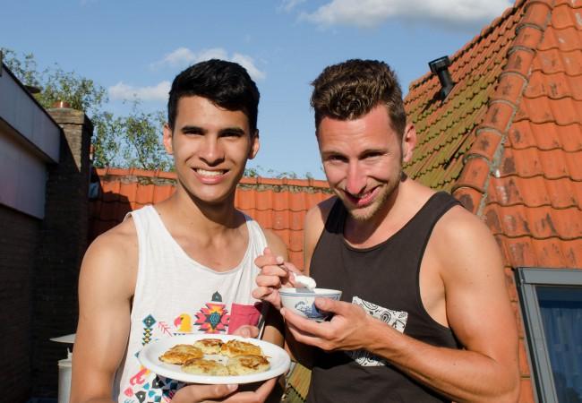 Aardappelkoekjes van Happy Face- Fernando