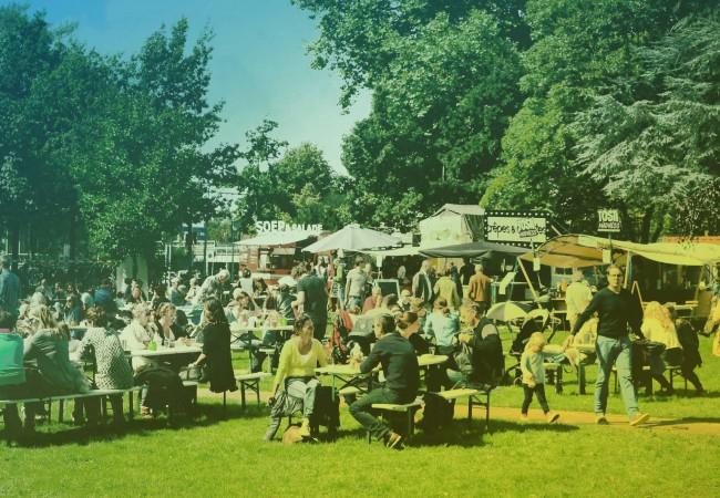 Proefpark Haarlem: snoepen buiten de deur