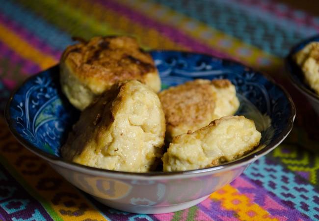 Indonesisch gerecht: tofu met ei