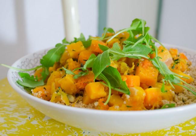 BlijInDeHerfst: Couscous met pompoen