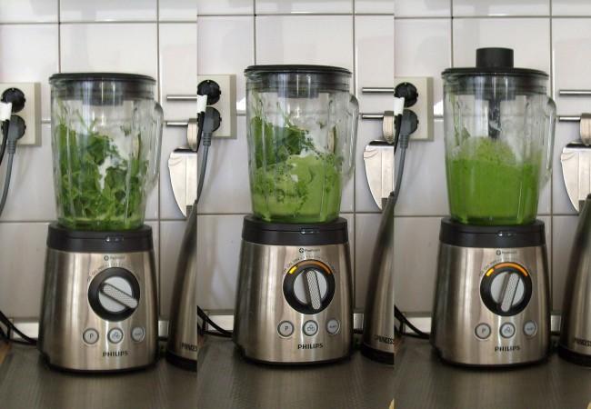 Groene smoothie voor maximale weerstand
