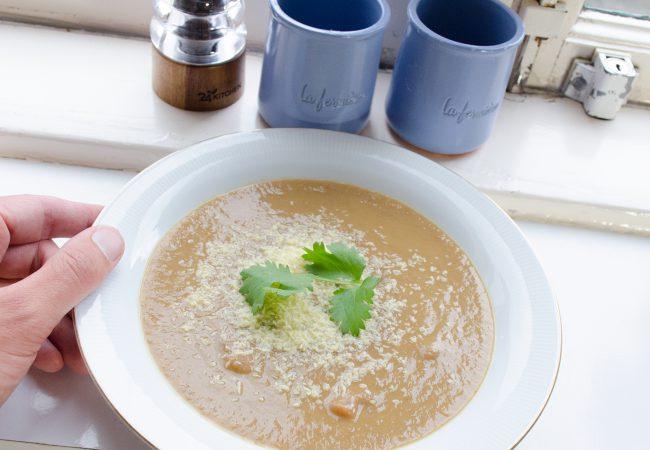 Linzen soep, lekker romig
