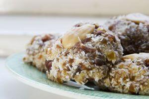Gezonde snacks op vakantie: kokoskoekjes
