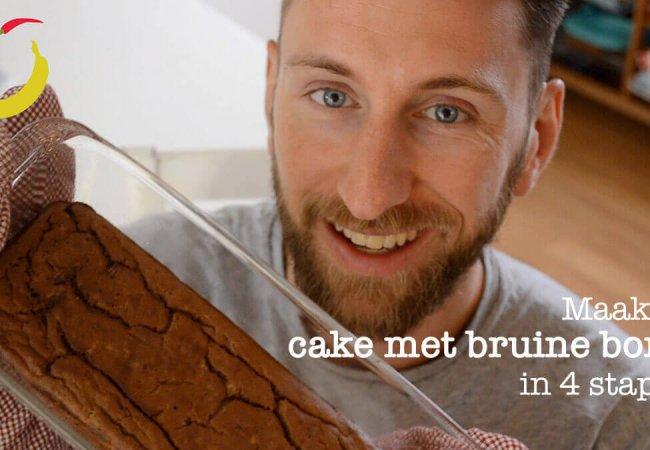 Cake met bruine bonen (en chocolade)