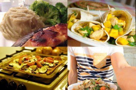 Gezond avondeten voor 1 persoon