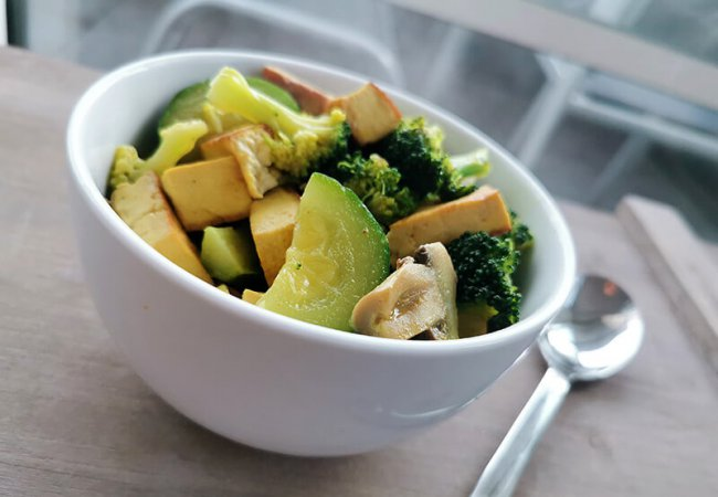 Vegetarische curry recept in maar 3 stappen
