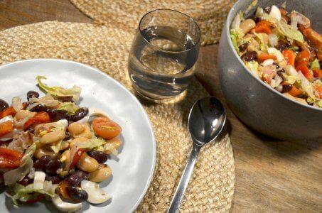 Salade met bonen - Snel klaar