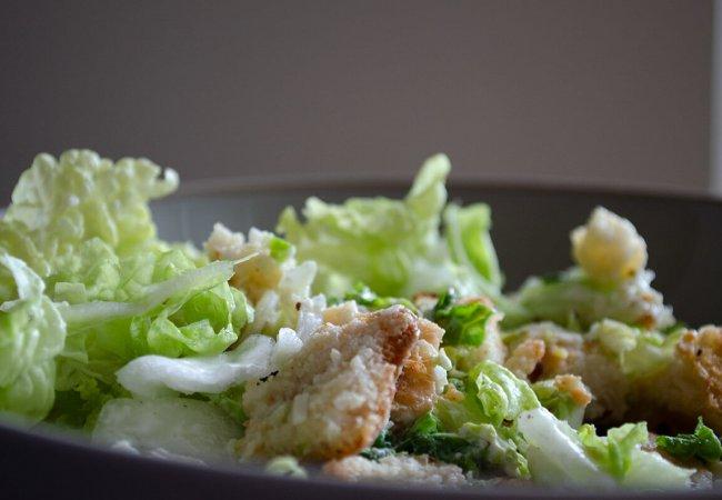 Vegetarische Caesar Salade