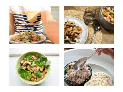 4 bulk maaltijden healthy food happy faces
